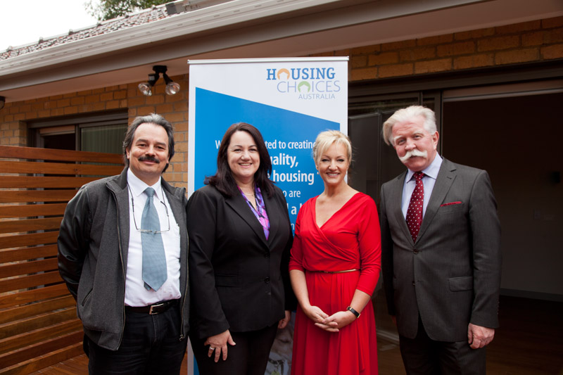 Minister opens Housing Project for people with disabilities for Housing Choices Australia