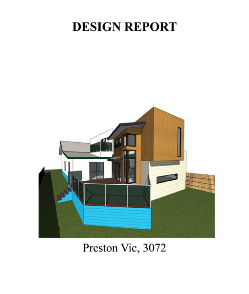 DOUBLE STOREY EXTENSION DEISGN REPORT 012