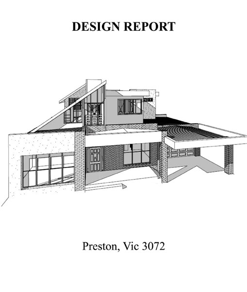 DOUBLE STOREY EXTENSION DEISGN REPORT 01